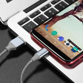 Hoco Kabel Charger USB Type C Magnetic Adsorption - U40B - Gray - 8