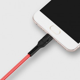 Hoco Benay Kabel Charger Micro USB for Smartphone - U31 - Black - 2