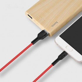 Hoco Benay Kabel Charger Micro USB for Smartphone - U31 - Black - 3