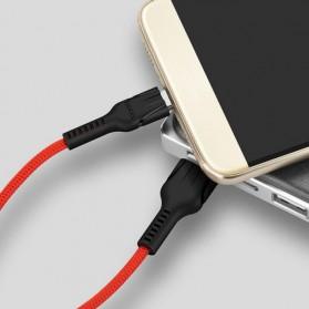Hoco Benay Kabel Charger USB Type-C  for Smartphone - U31 - Black - 3