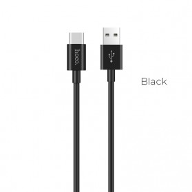 Hoco X23 Skilled Charging Data USB Type C 1m - Black