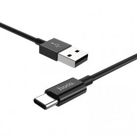 Hoco X23 Skilled Charging Data USB Type C 1m - Black - 2