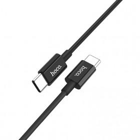 Hoco X23 Skilled Charging Data USB Type C to USB Type C 1m - Black - 2