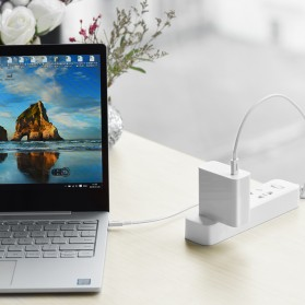 Hoco X23 Skilled Charging Data USB Type C to USB Type C 1m - Black - 3