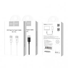 Hoco X23 Skilled Charging Data USB Type C to USB Type C 1m - Black - 5