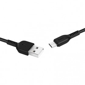 Hoco X20 Flash Micro USB Charging Data Sync Cable 2m - Black - 2