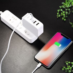 HOCO Xpress Charger USB 3 Port USB Type C PD Charging - C32 - White - 9