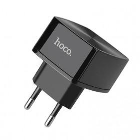 HOCO Cutting Edge Charger USB QC3.0 3A EU Plug - C70A - Black - 4