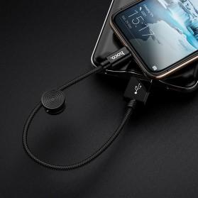 HOCO Premium Kabel Charger Lightning 2.4A 25cm - X35 - Black - 5