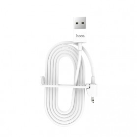 HOCO Kabel Charger Lightning 2.1A 1 Meter with Stand Holder - X31 - White - 5