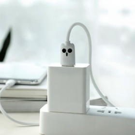 HOCO Kikibelief Kabel Charger Micro USB 2.4A 1 Meter - KX1 - Gray - 4