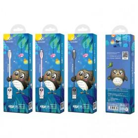 HOCO Kikibelief Kabel Charger Micro USB 2.4A 1 Meter - KX1 - Gray - 7