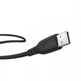 HOCO Kabel Charger USB Type C 3.0A 1.2 Meter with Voltage Meter - S6 - Black - 5