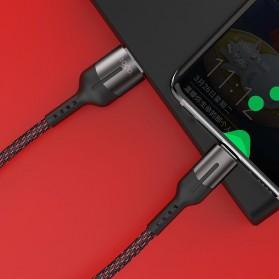 HOCO Gusto Kabel Charger USB Type C 5A 1.2 Meter - U68 - Black - 8