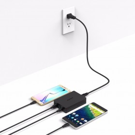 Aukey Charger USB 4 Port+2 Port Type C 60W QC3.0 & AiPower - PA-Y6 - Black - 2