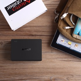 Aukey Charger USB 4 Port+2 Port Type C 60W QC3.0 & AiPower - PA-Y6 - Black - 3