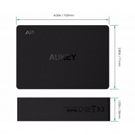 Aukey Charger USB 4 Port+2 Port Type C 60W QC3.0 & AiPower - PA-Y6 - Black - 4