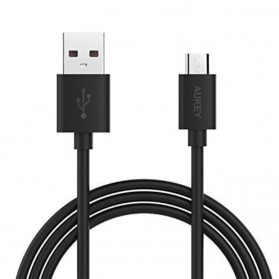 Aukey Kabel Charger Micro USB 2m - CB-D9 - Black