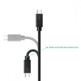 Aukey Kabel Charger USB Type C 90cm - CB-C10 - Black - 2
