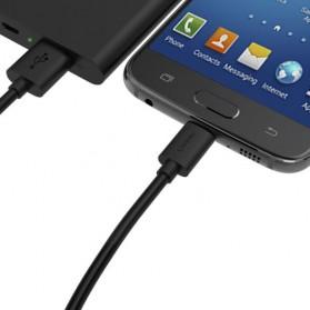 Aukey Kabel Charger USB Type C + Micro USB 1m 3 PCS - CB-TD1 - Black - 3