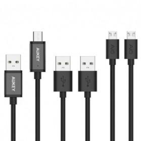 Aukey Kabel Charger USB Type C + Micro USB 5 PCS - CB-TD2 - Black - 2
