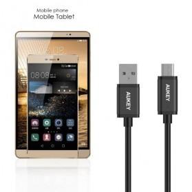 Aukey Kabel Charger USB Type C + Micro USB 5 PCS - CB-TD2 - Black - 3