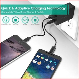 Aukey Charger USB 2 in 1 USB Type C Quick Charge 3.0 - PA-Y2 - White - 4