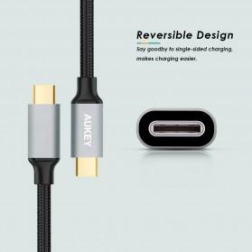 Aukey Kabel Charger USB Type C Sync Data 2 Meter - CB-CD3 - Black - 2