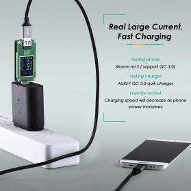 Aukey Kabel Charger USB Type C Sync Data 2 Meter - CB-CD3 - Black - 4