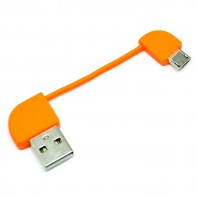 Replaceable Micro USB Cable for Powerbank Hame T6 - Orange