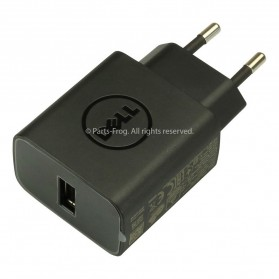 Dell USB Wall Charger AC Adapter EU Plug 10W 5V 2A - JXC49 - Black - 5