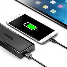 Tronsmart Kabel Charger Micro USB Pet Coating 2A 1 Meter - MUS03 - Black - 3