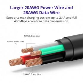 Tronsmart Kabel Charger Micro USB Pet Coating 2A 1 Meter - MUS03 - Black - 7
