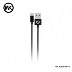 WK Kingkong Kabel Lightning - WDC-013 - Black