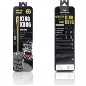 WK Kingkong Kabel Lightning - WDC-013 - Black - 6