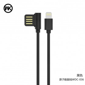 WK ATOM Kabel Lightning - WDC-036 - Black