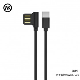 WK ATOM Kabel USB Type C - WDC-036 - Black