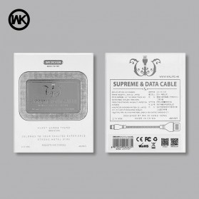 WK Supreme Kabel Micro USB - WDC-028 - Black - 6