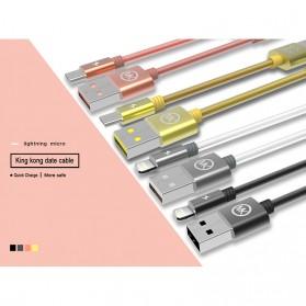WK Kingkong Kabel Micro USB - WDC-013 - Black - 4