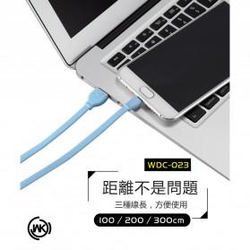 WK Fast Kabel Micro USB1m - WDC-023 - Black - 3