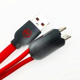 WK Twins 2 in 1 Kabel Micro USB & Lightning - Black - 3
