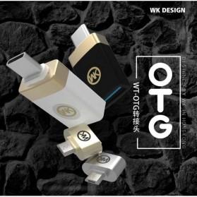 WK Micro USB to USB OTG Plug for Smartphone - Silver - 2