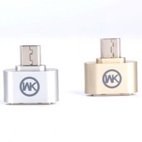 WK Micro USB to USB OTG Plug for Smartphone - Silver - 4