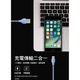 WK Ultraspeed PRO Kabel Charger Micro USB - WDC-041 - Black - 2