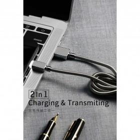 WK Gemstone Series Kabel Micro USB - WDC-065 - Black - 7