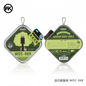 WK Savour Kabel Lightning 1M - WDC-068 - Black - 8