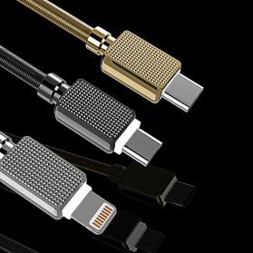 WK Gemstone Series Kabel USB Type C - WDC-065 - Black - 3