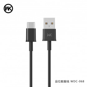 WK Savour Kabel USB Type C 1M - WDC-068 - Black