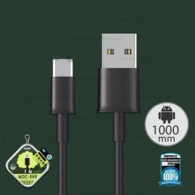 WK Savour Kabel USB Type C 1M - WDC-068 - Black - 2