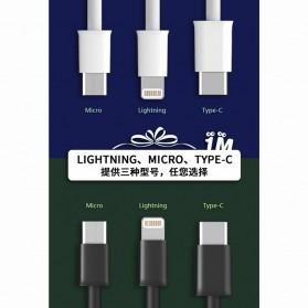 WK Savour Kabel USB Type C 1M - WDC-068 - Black - 4